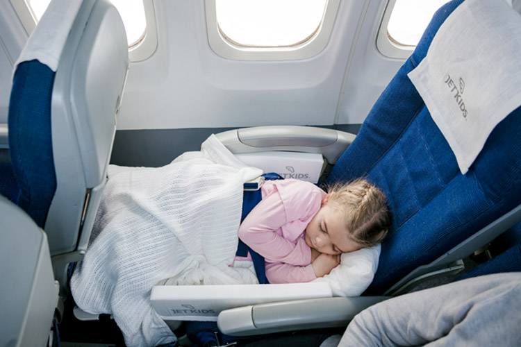 travel hacks for parents sleeping on plane