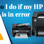 Facing Problem HP Printer In Error State?